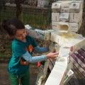 Recycling-Kunst: Der Tetrapak-Mann
