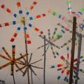 Recycling-Kunst: Flaschen-Windräder