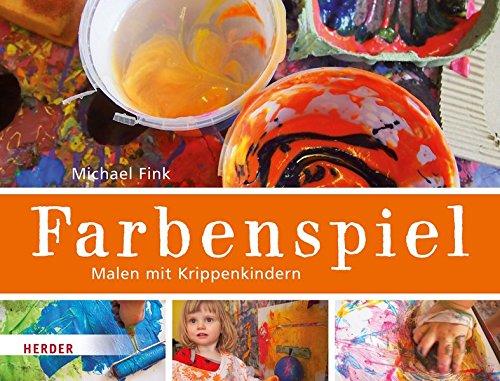 Farbenspiel – Malen mit Krippenkindern