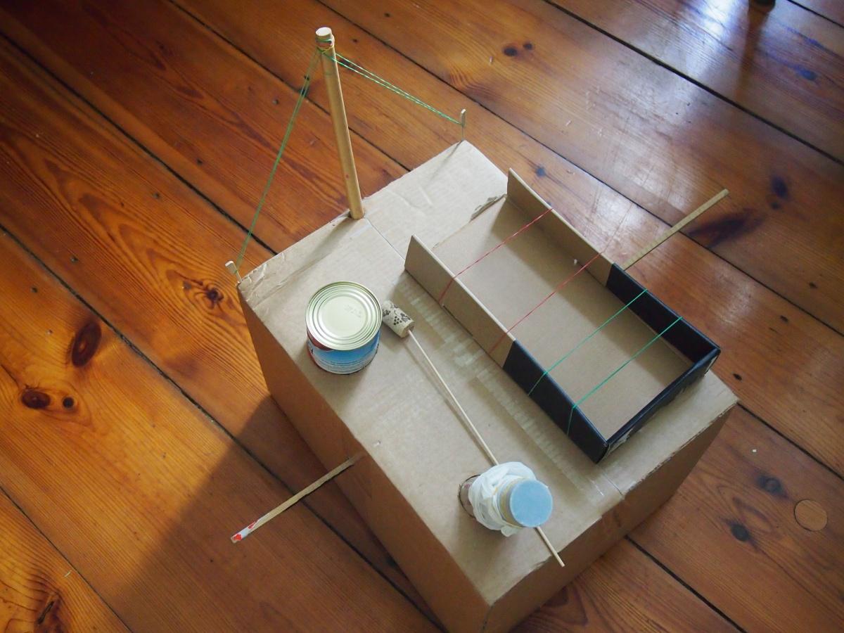 Ene  mene miste – Wir bauen was mit Kiste